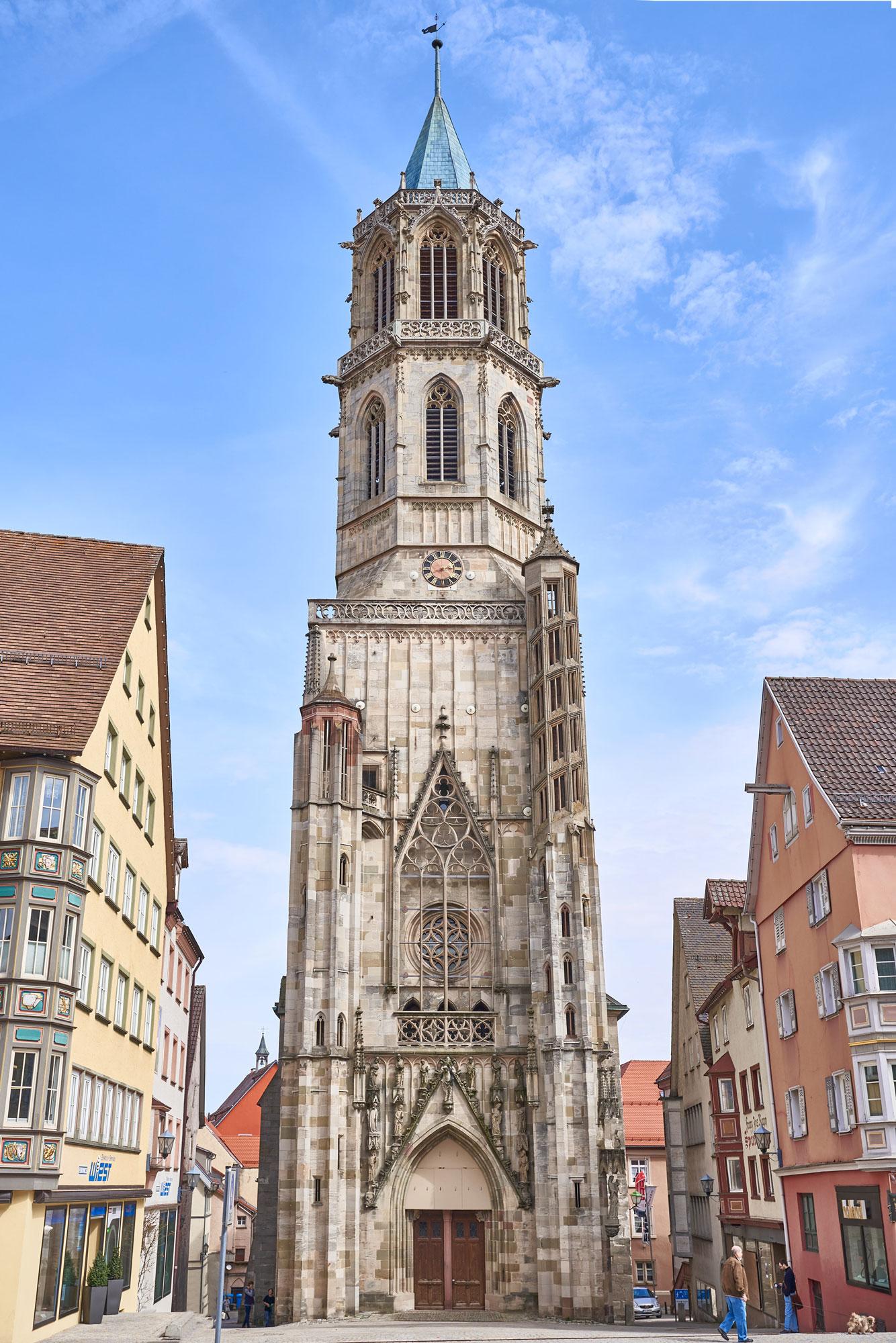 Der Turm der Kapellenkiche