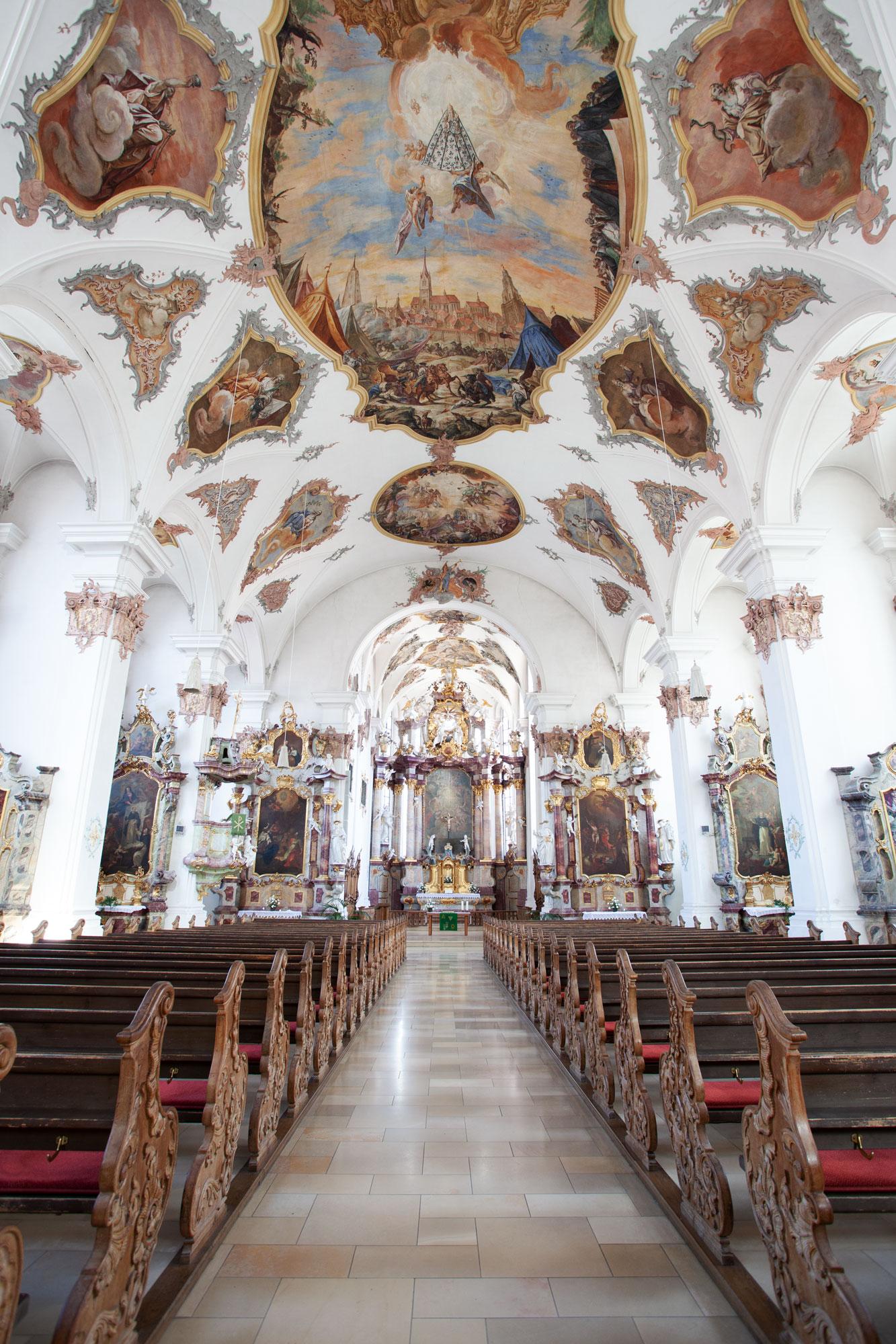 Innenraum der Predigerkirche